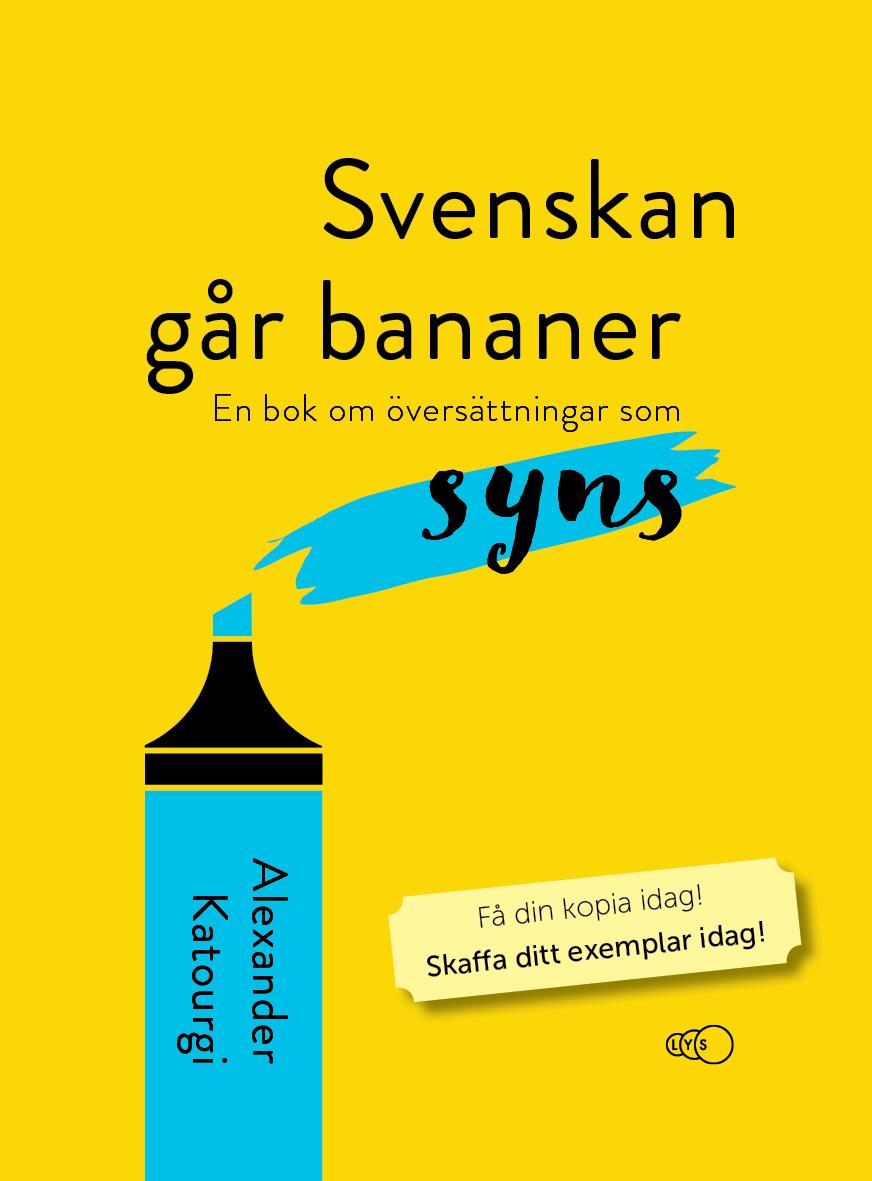Framsida för Svenskan går bananer
